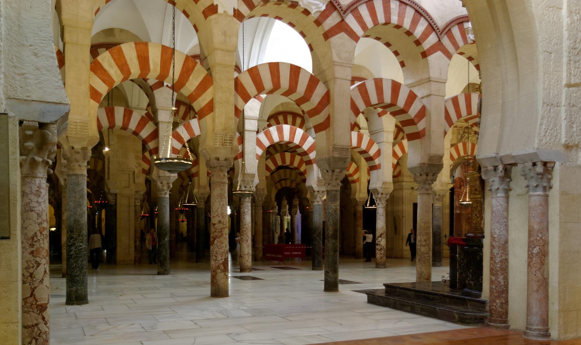 In der Mezquita in Cordoba