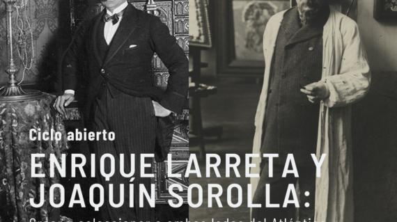 Imagen Enrique Larreta y Joaquín Sorolla